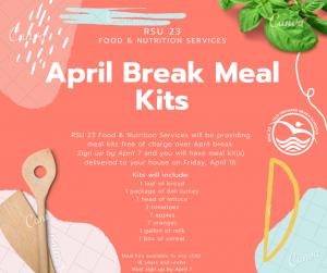 Graphic explaining Meal Kit Program